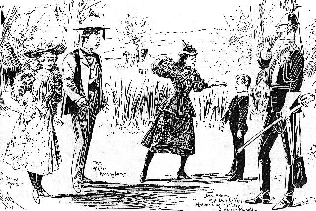 drawing from the 1893 production